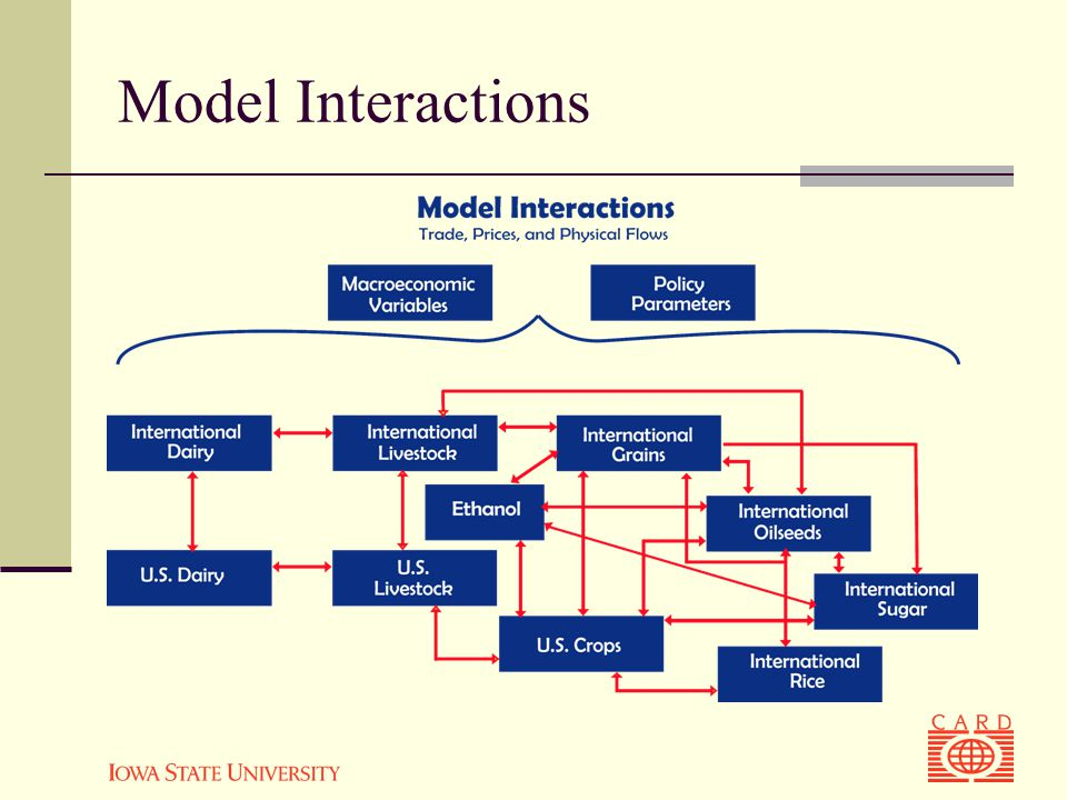 Model Interactions