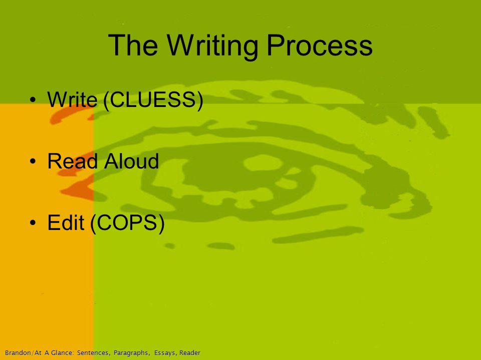 Edit sentences