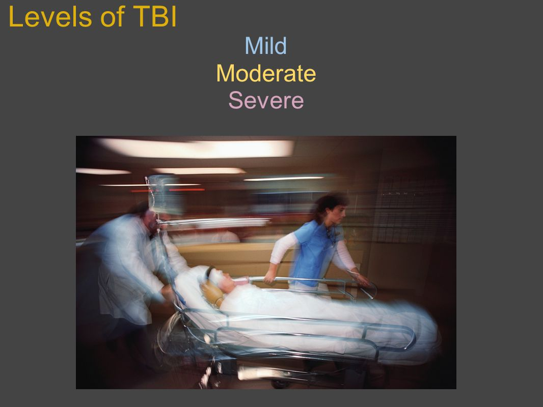 Levels of TBI Mild Moderate Severe