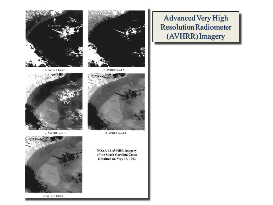 Advanced Very High Resolution Radiometer (AVHRR) Imagery