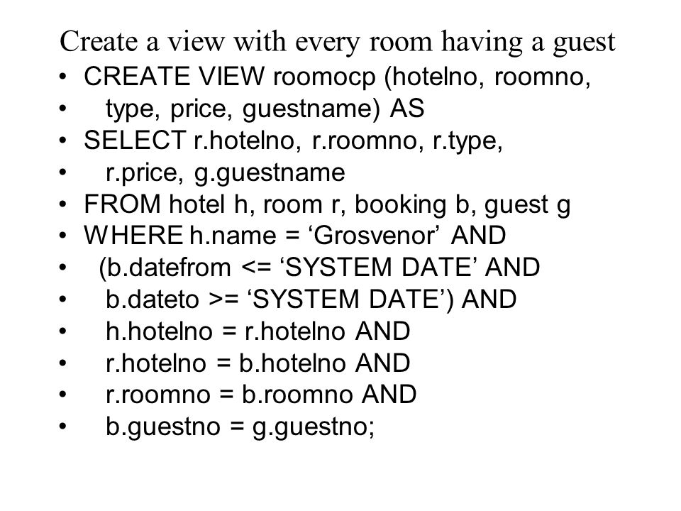 Hotel Names List