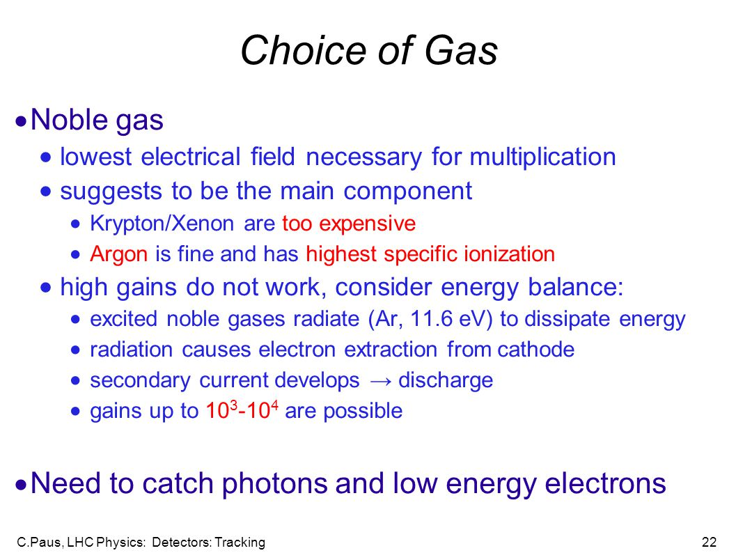 the main features of the noble gases