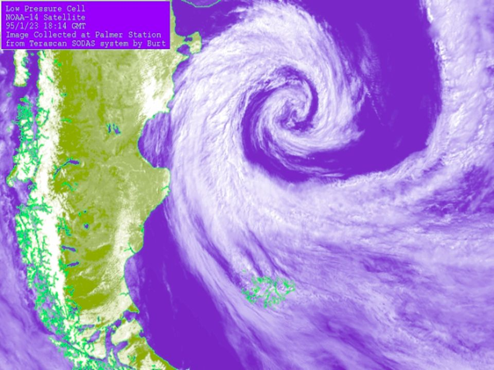 Extratropical cyclone clouds