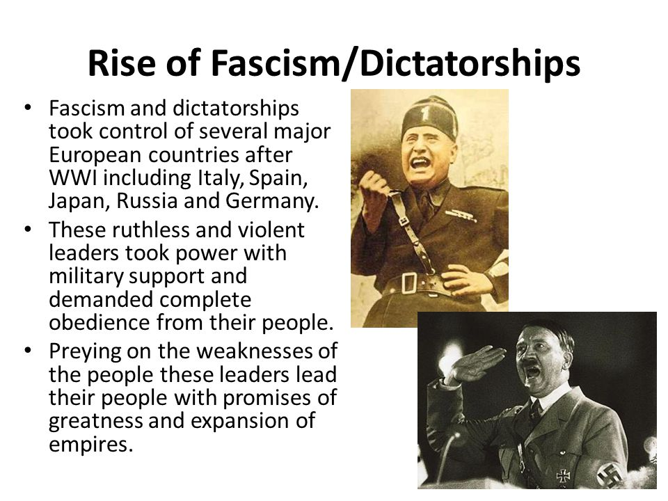 world war 2 fascism