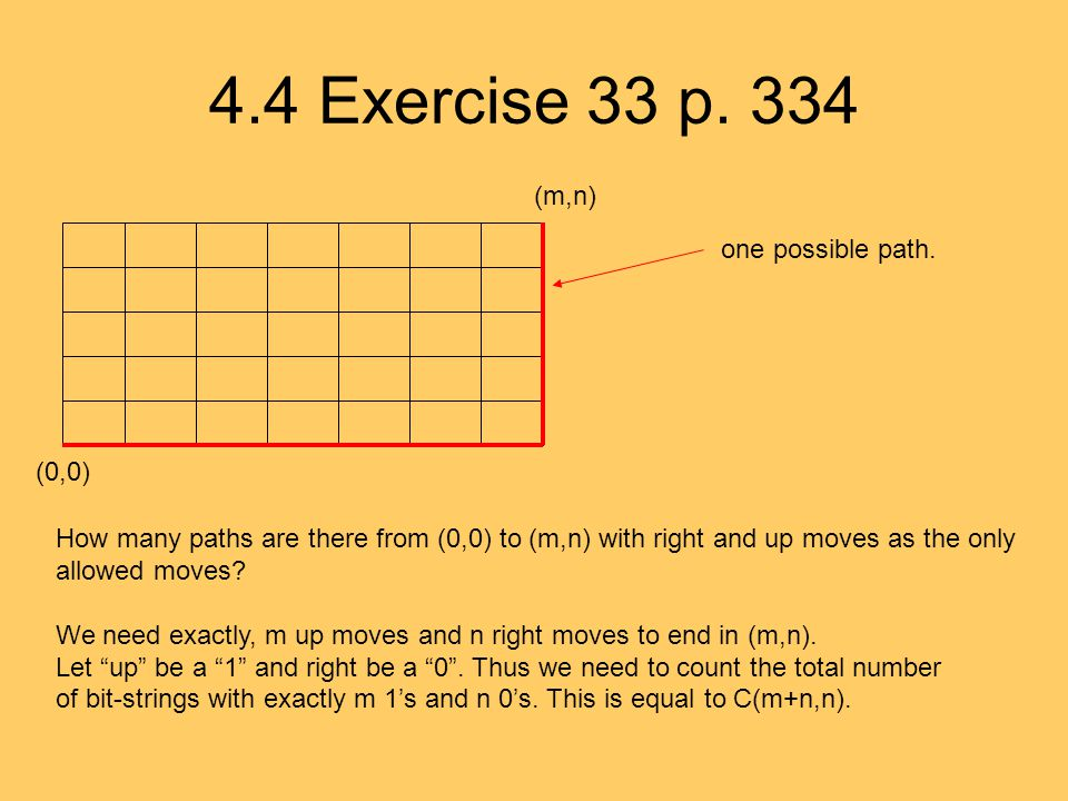 4.4 Exercise 33 p. 334 one possible path.