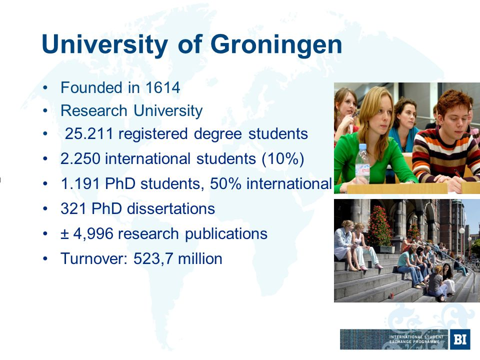 dissertation groningen university The province is home to the university of groningen and hanze university of applied graduate students conducting research for a thesis or dissertation.