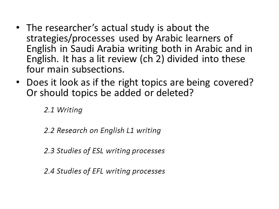 How to Write a Ph D Proposal for English Literature | The