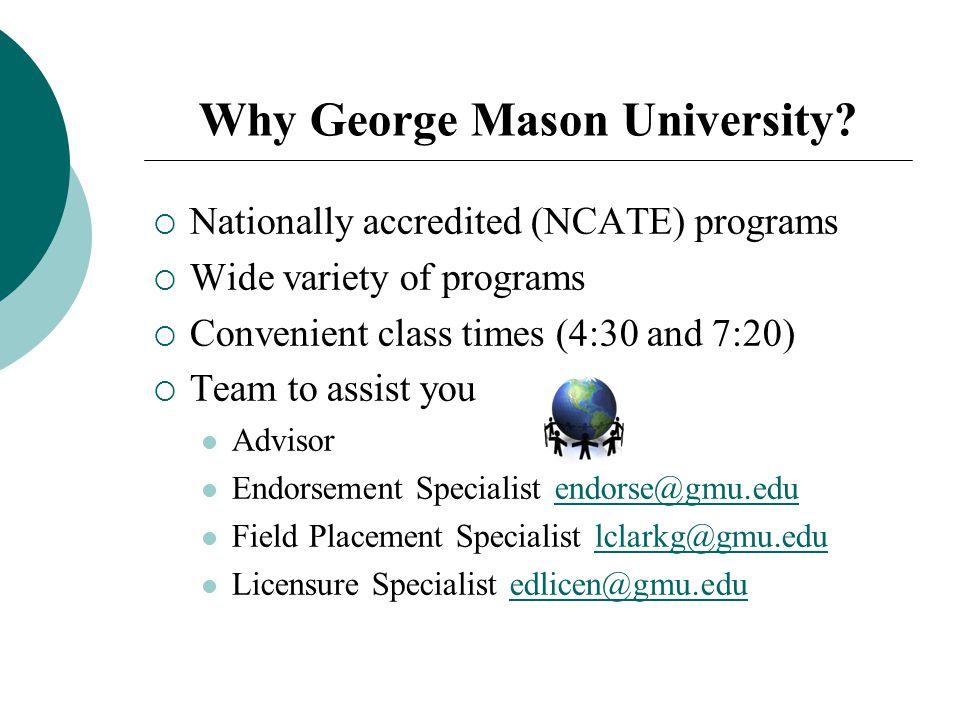 George Mason College Application Question?
