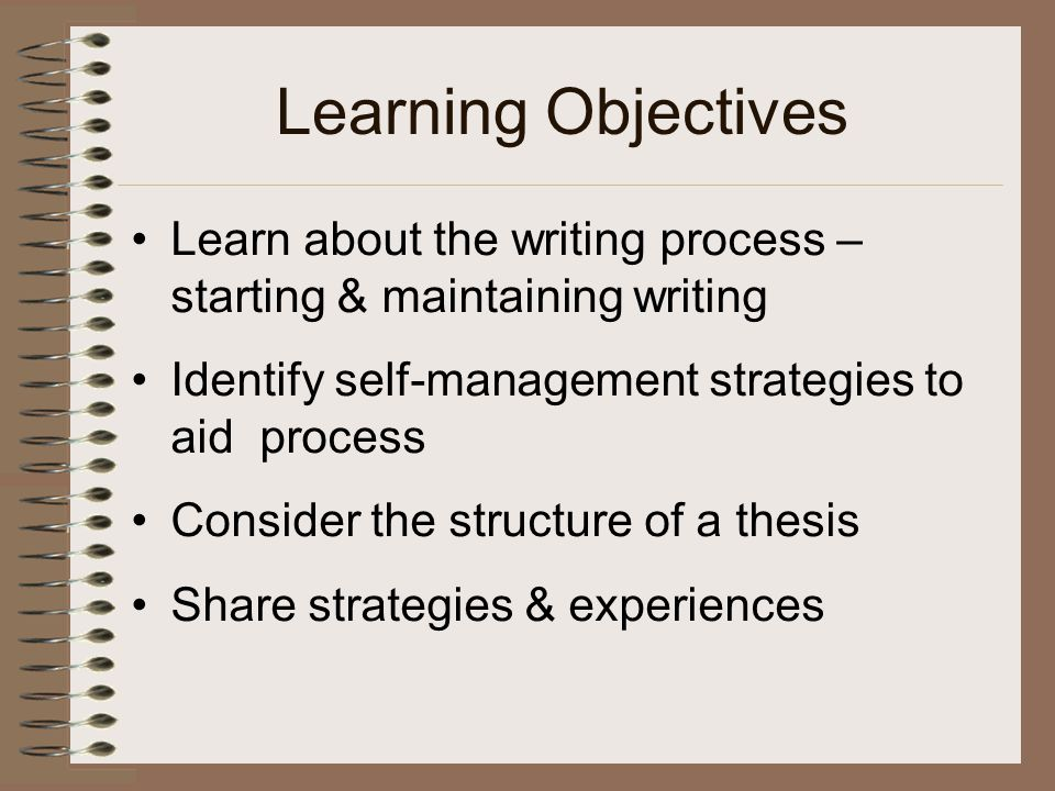 writing the objectives of a thesis How to write objectives in papers what are the four tips for writing a good thesis statement for an expository essay how to write a persuasive essay.