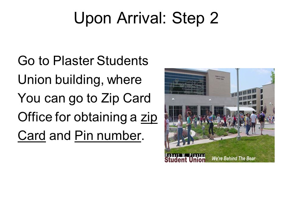 Missouri State University Before Your Arrival 1 Get To Know The