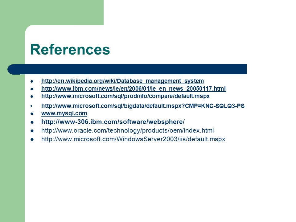 References CMP=KNC-SQLQ3-PS