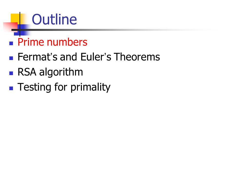 What is fermat's little theorem?