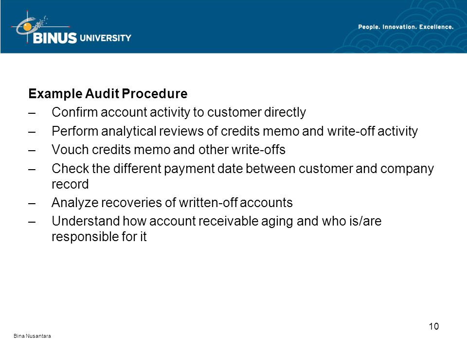 Audit Procedures For Misappropriation Of Assets Pertemuan Xxiv