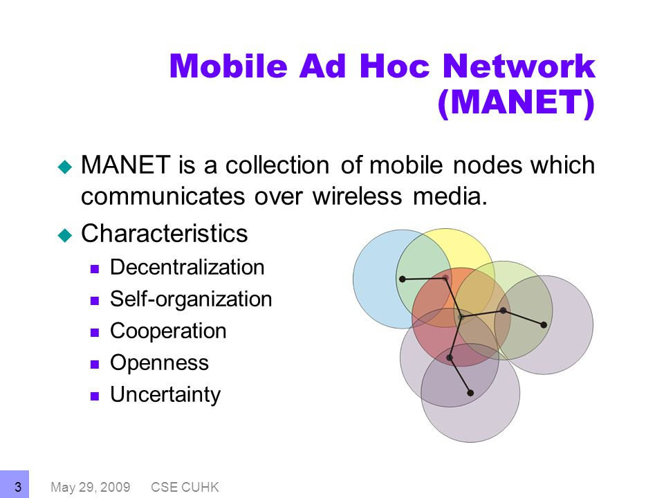 thesis on mobile ad hoc network