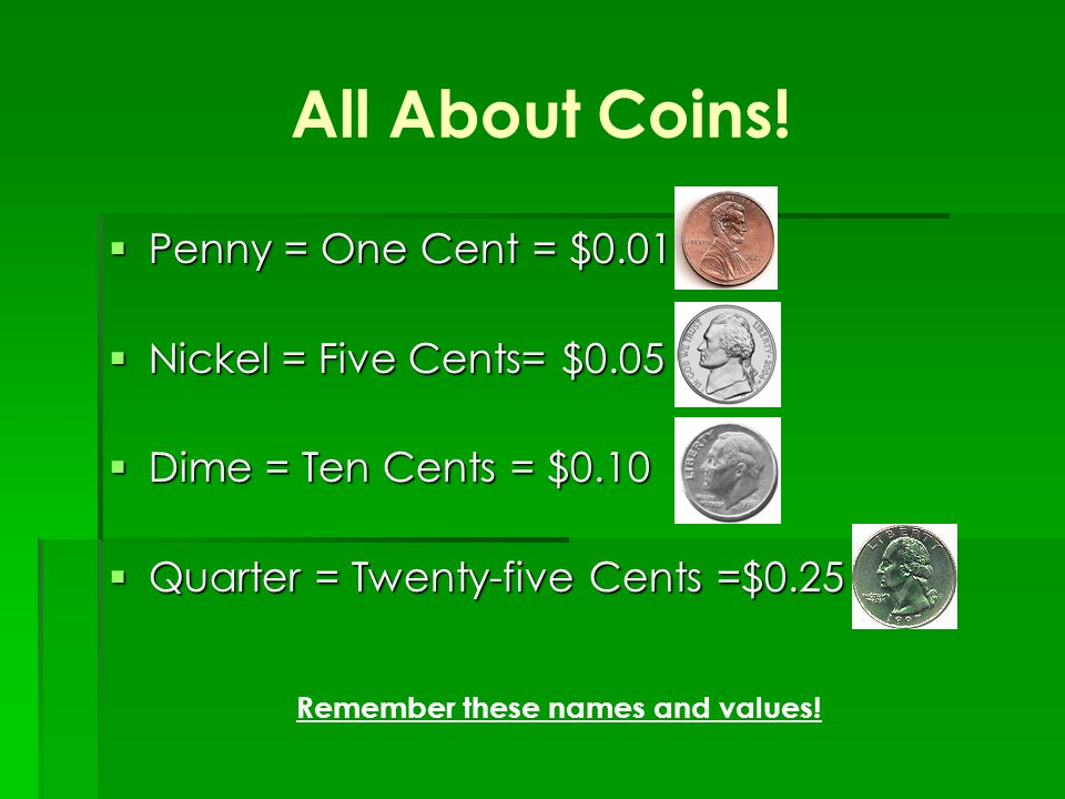 All About Coins.