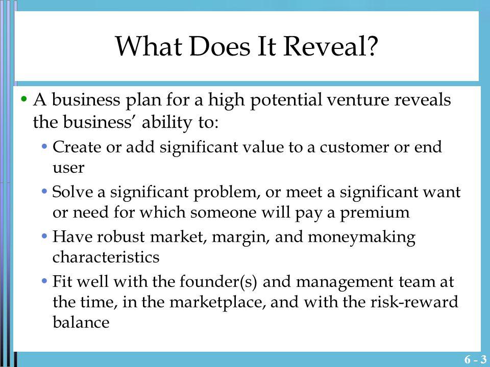 New Venture Creation Entrepreneurship for the 21st Century Irwin Management
