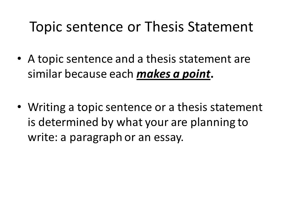 What Exactly Is A Thesis Statement