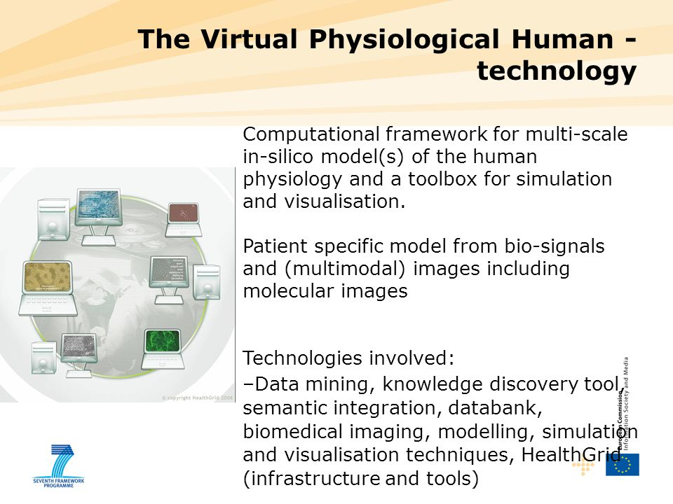 Computational framework for multi-scale in-silico model(s) of the human physiology and a toolbox for simulation and visualisation.