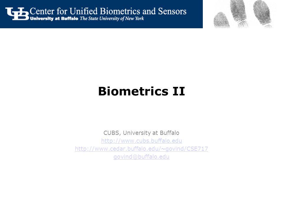 biometrics ii cubs, university at buffalo - ppt download, Presentation templates