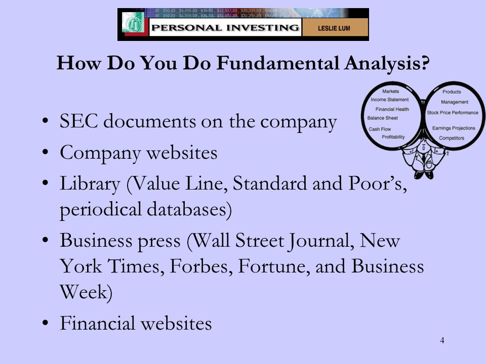 4 How Do You Do Fundamental Analysis.