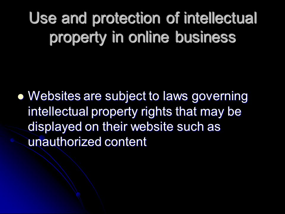 intellectual property protection essay