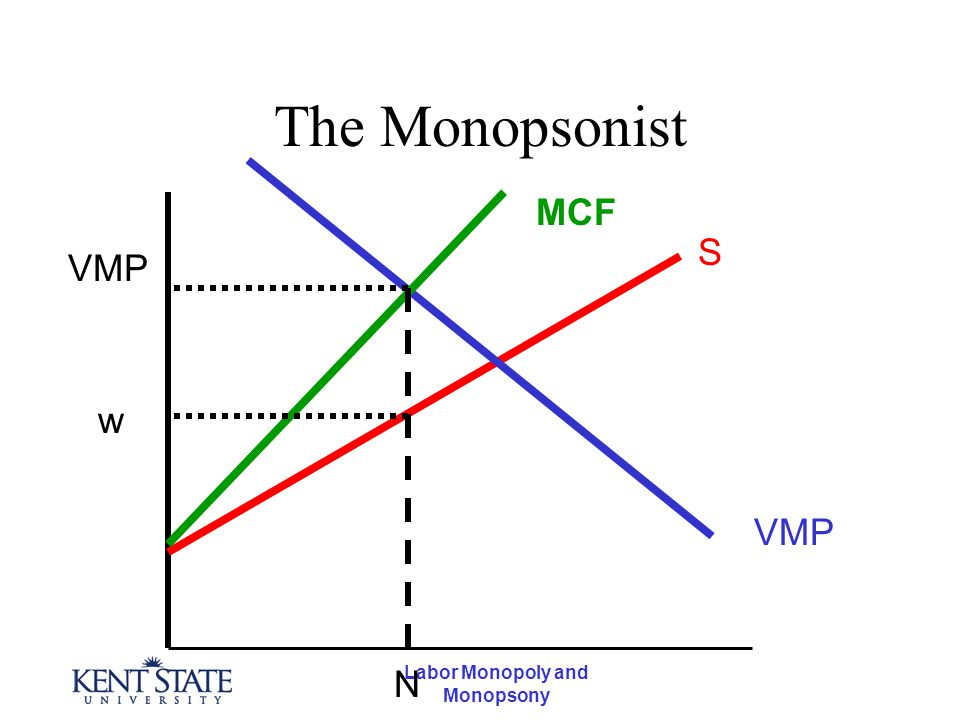 """monopoly and monopsony Perhaps surprisingly, """"large"""" importing countries and """"large"""" exporting countries have a market imperfection present this imperfection is more easily understood if we use the synonymous terms for """"largeness"""": monopsony power and monopoly power."""