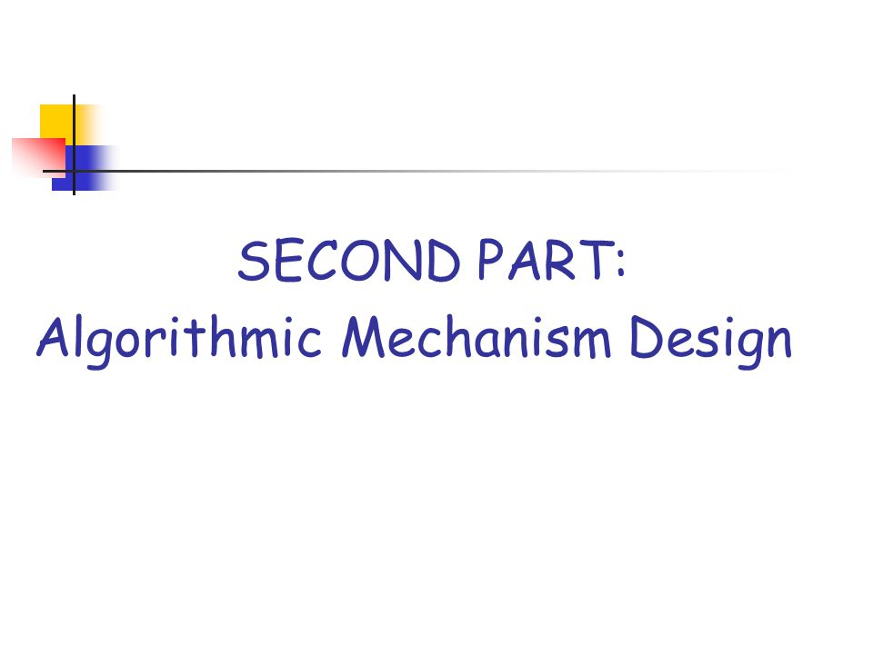 mechanism designs