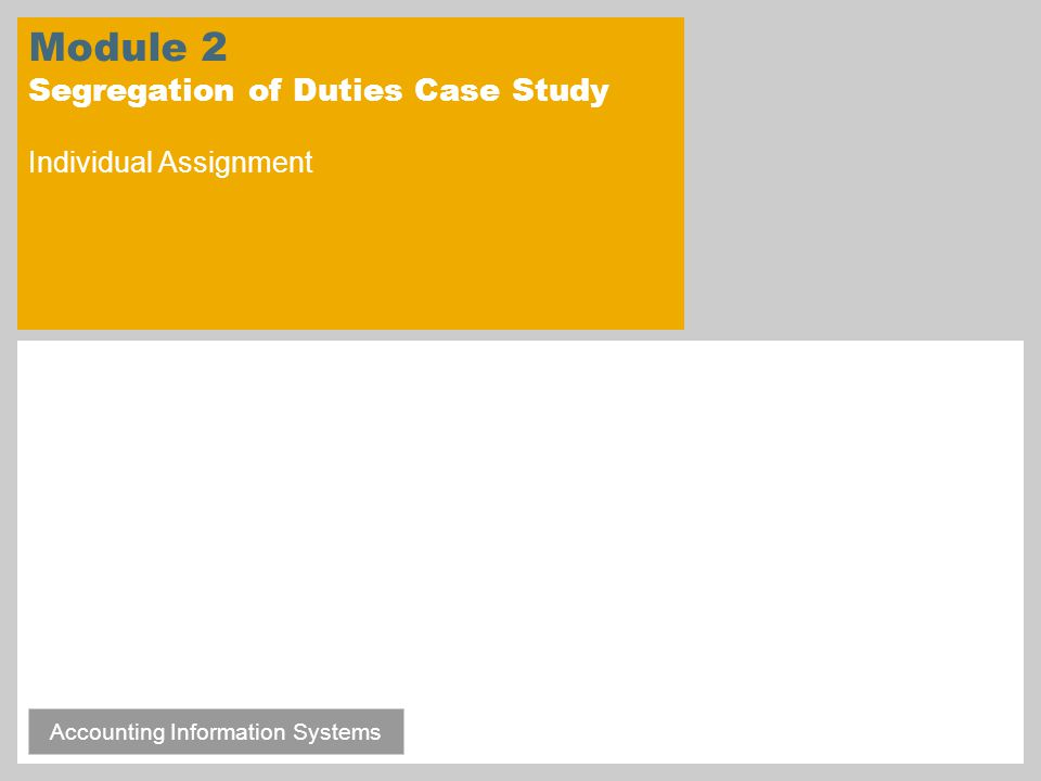 module 6 case study