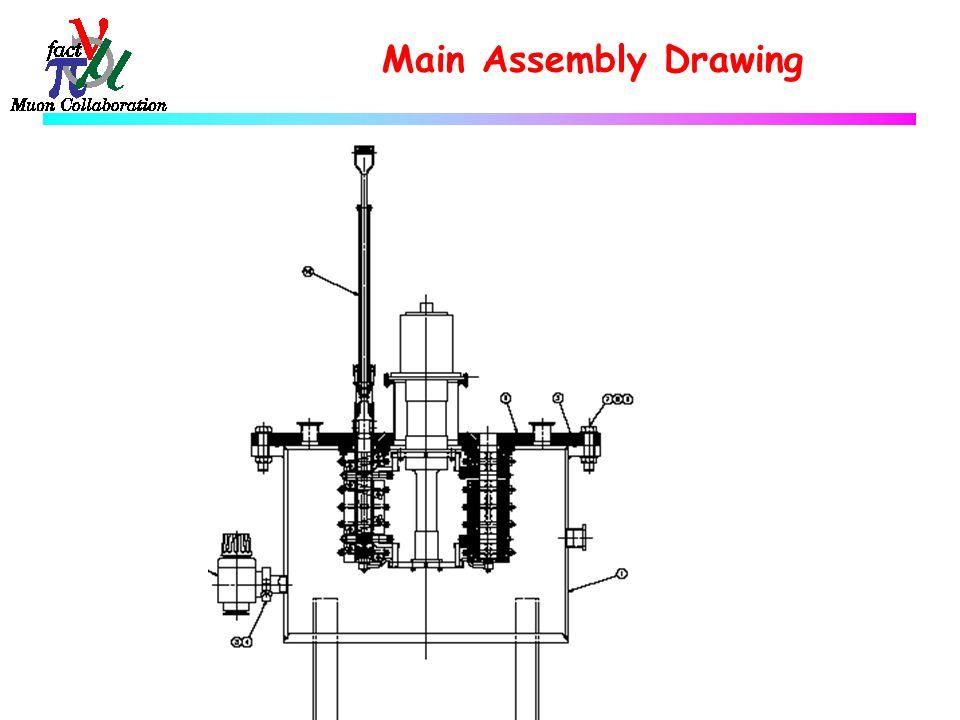 Assembly Presentation Drawing Main Assembly Drawing