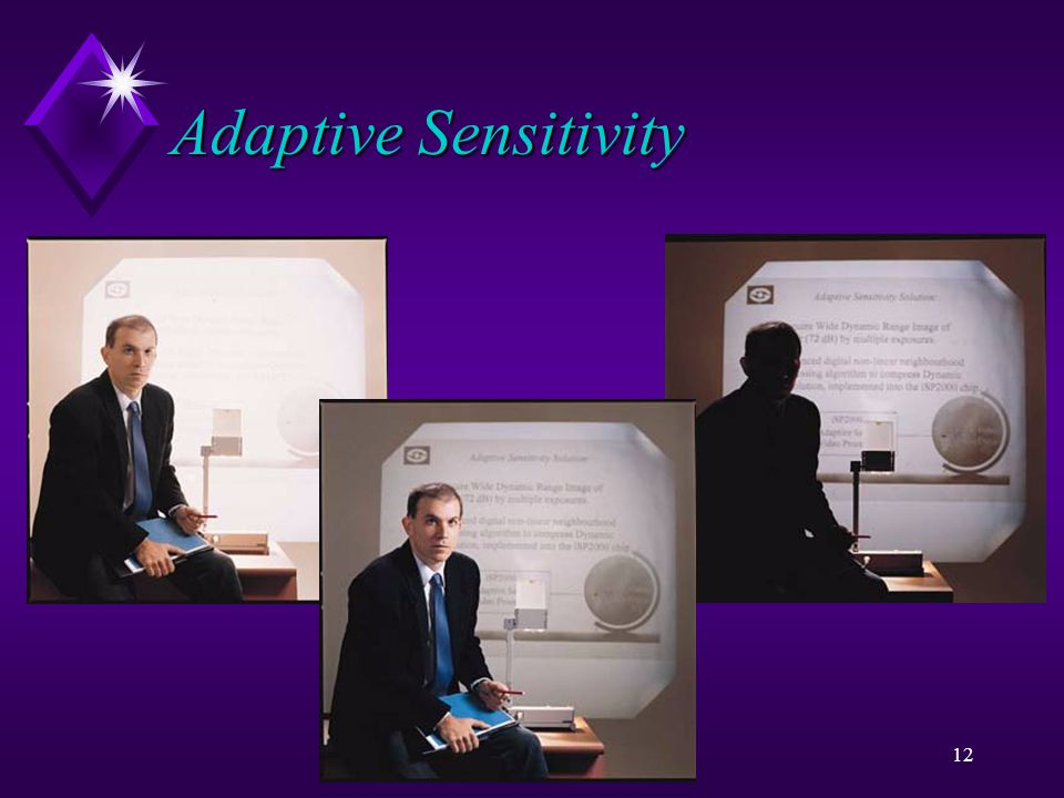 i Sight11 Adaptive Sensitivity