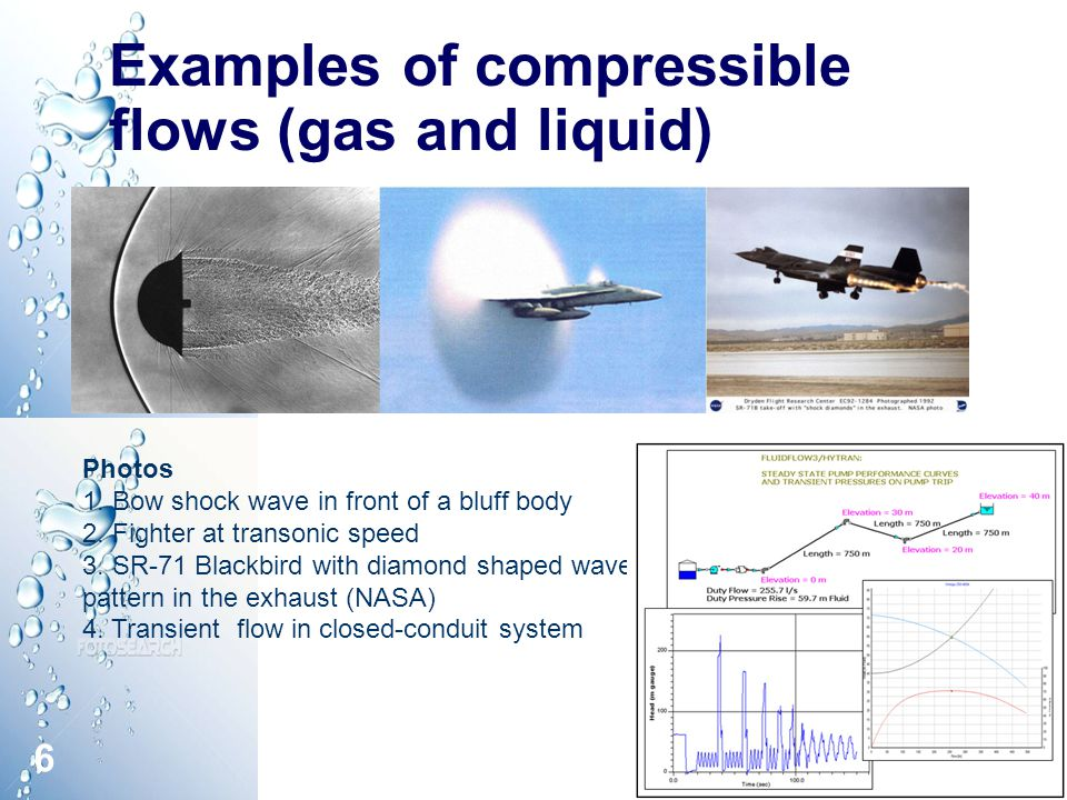 compressibility examples. 6 examples compressibility