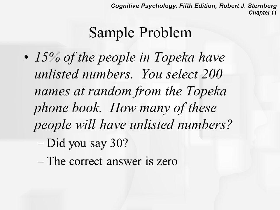 Problem solving style