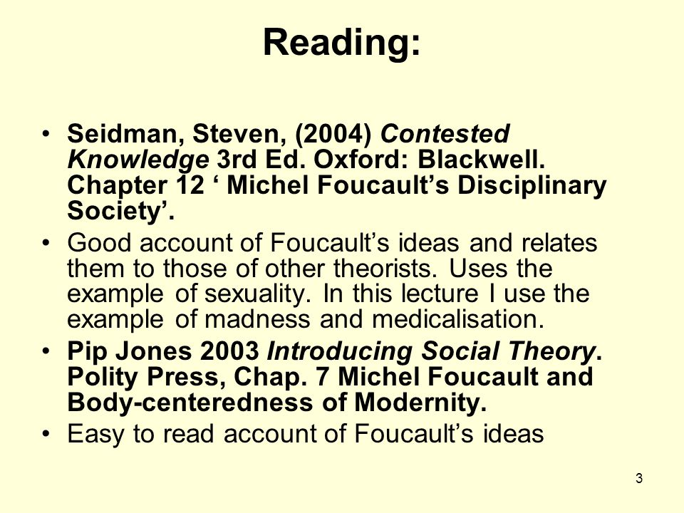 compare and contrast goffman and focaults'