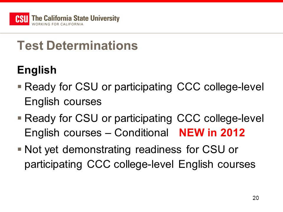 College level English courses?