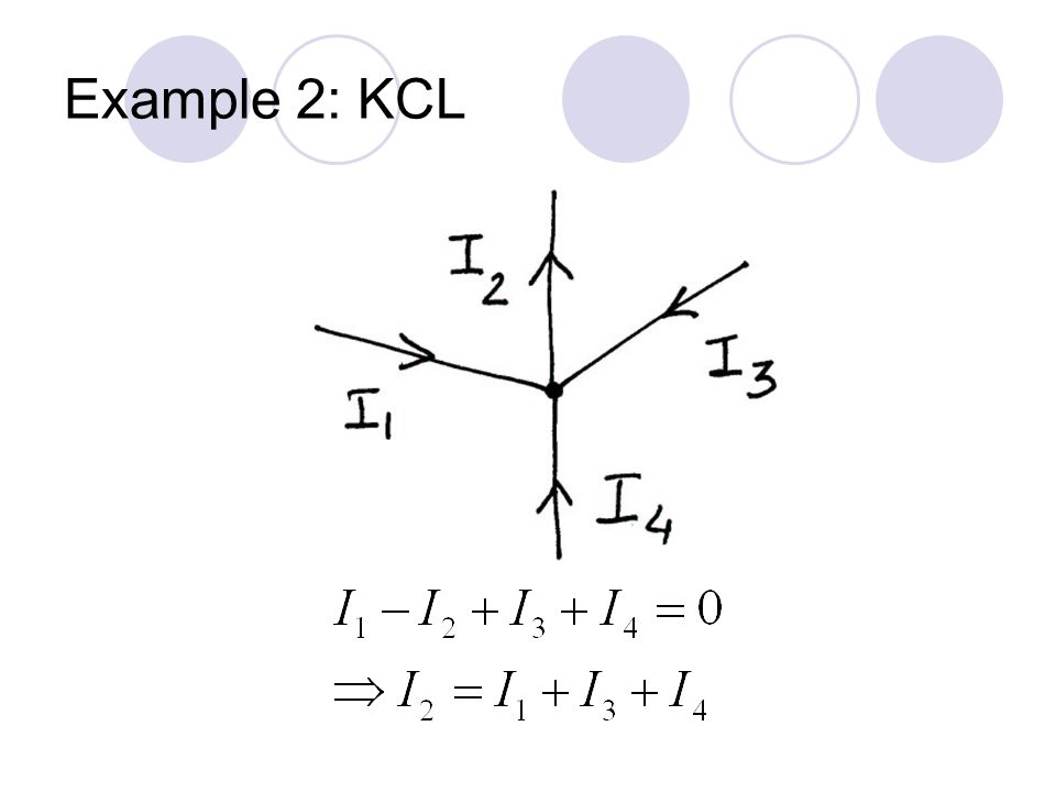 Example 2: KCL