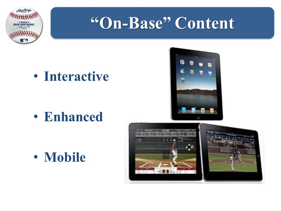 Interactive Enhanced Mobile On-Base Content