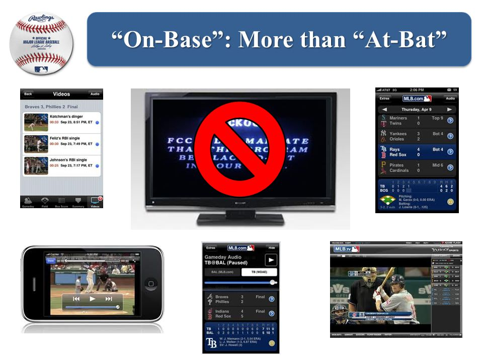 Not just At-Bat , Fans are now On-Base On-Base : More than At-Bat