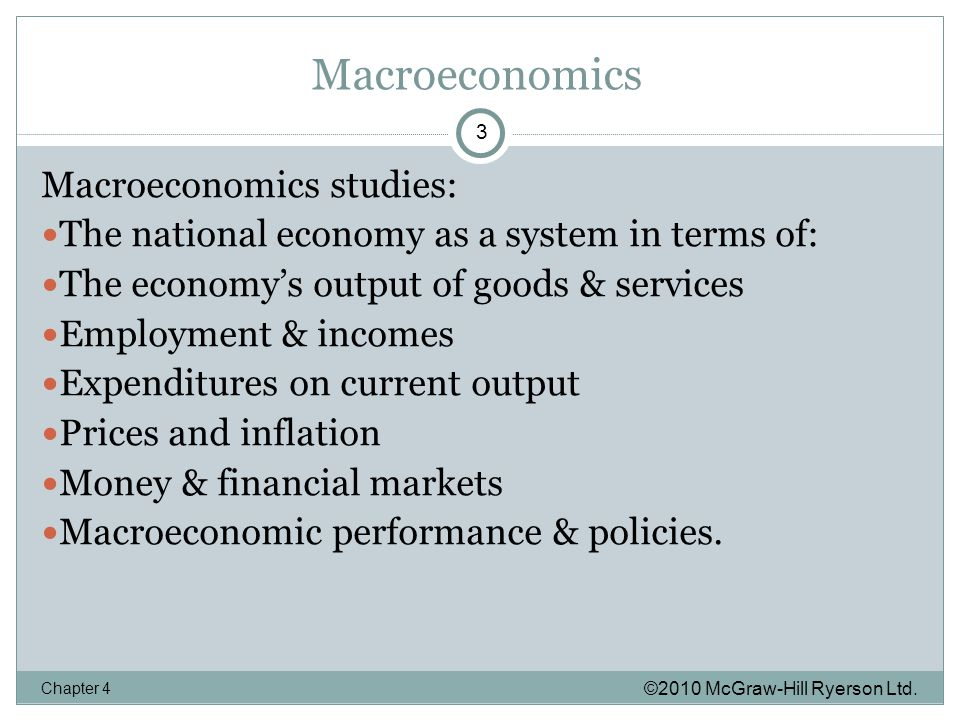 Macroeconomics ©2010 McGraw-Hill Ryerson Ltd.