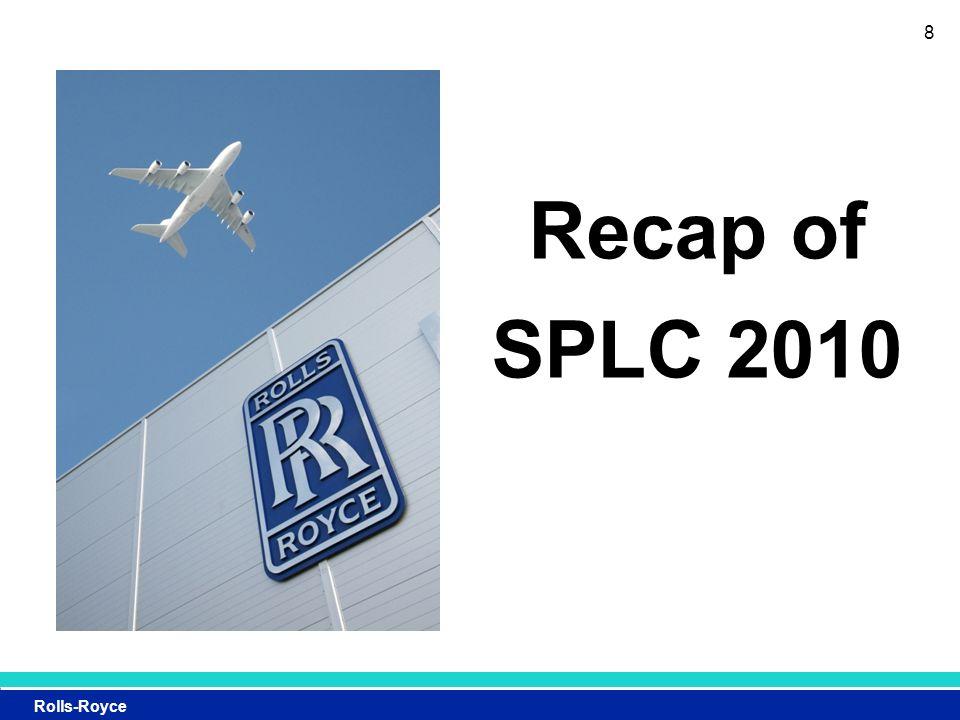 Rolls-Royce Recap of SPLC 2010 8