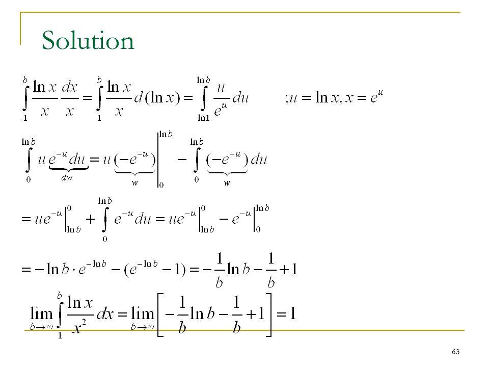 63 Solution