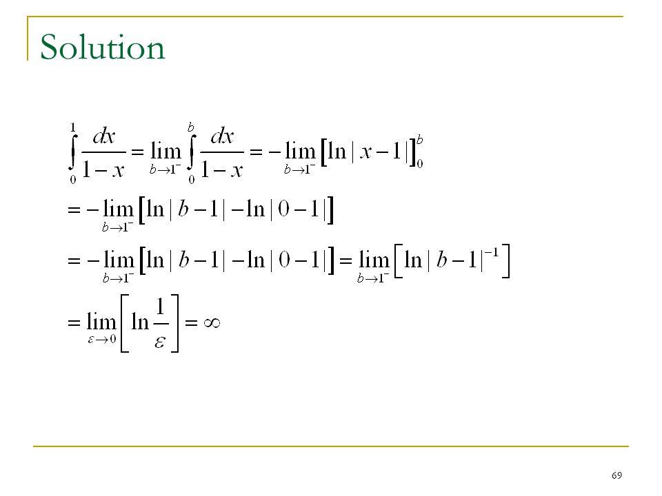 69 Solution