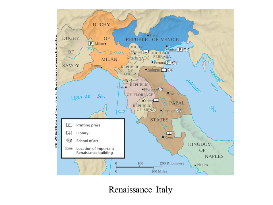 Renaissance Italy ©2003 Wadsworth, a division of Thomson Learning, Inc.