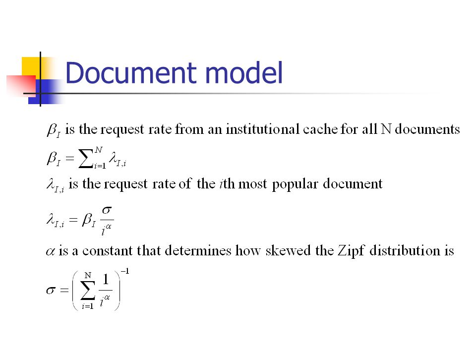 Document model