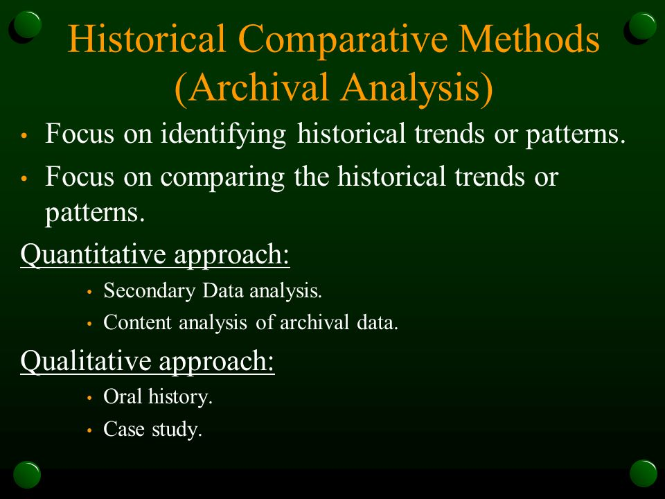 historical case study What is a Case Study?