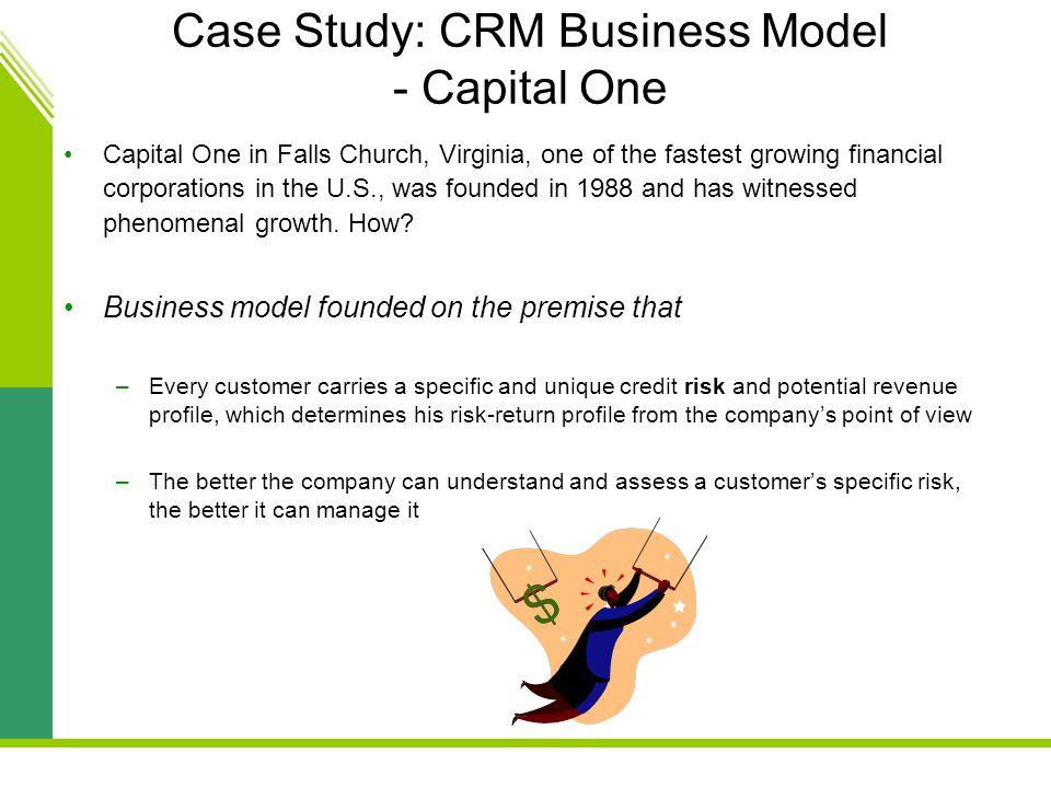 Crm case study ppt