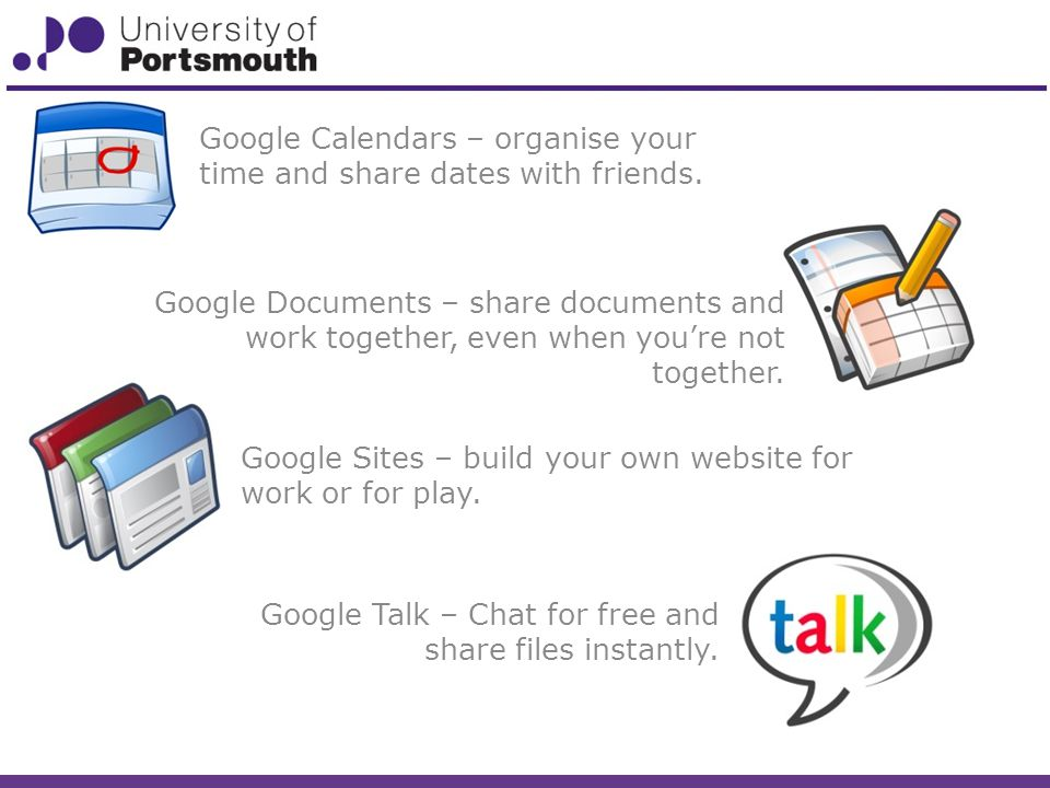 Google Talk – Chat for free and share files instantly.