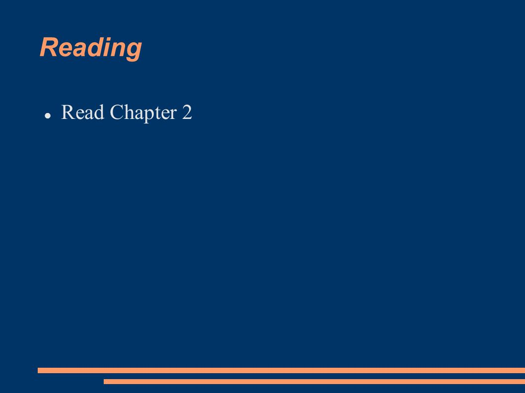 Reading Read Chapter 2