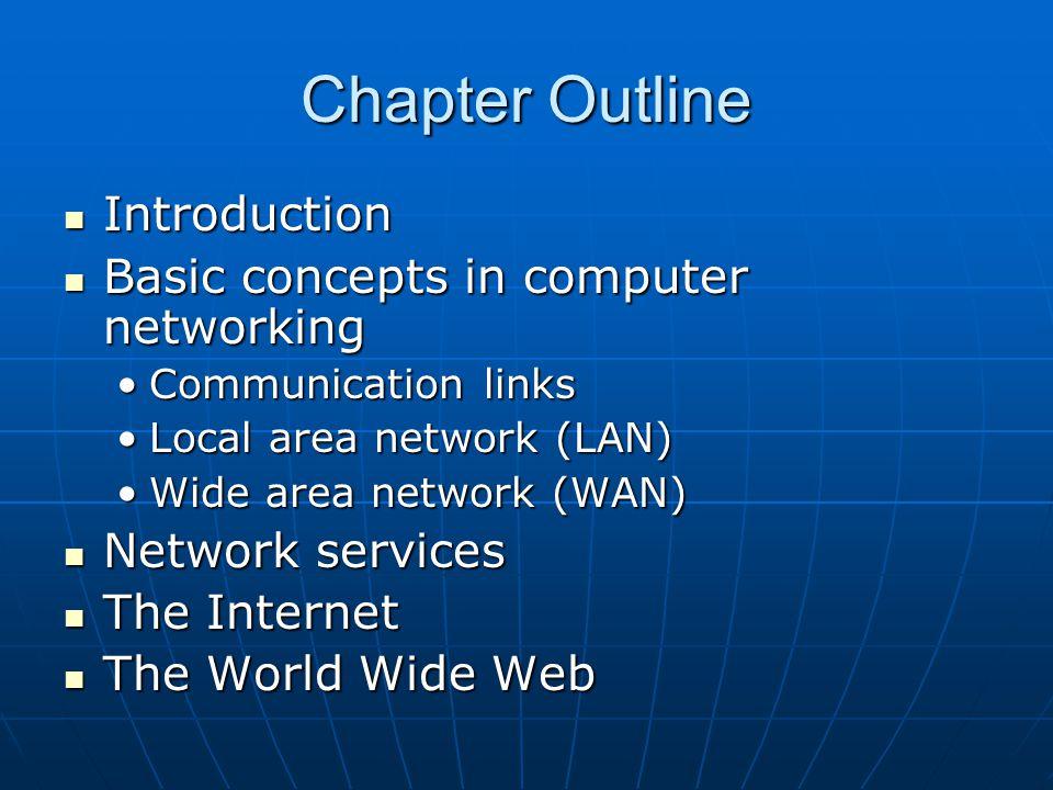 ch 12 concepts