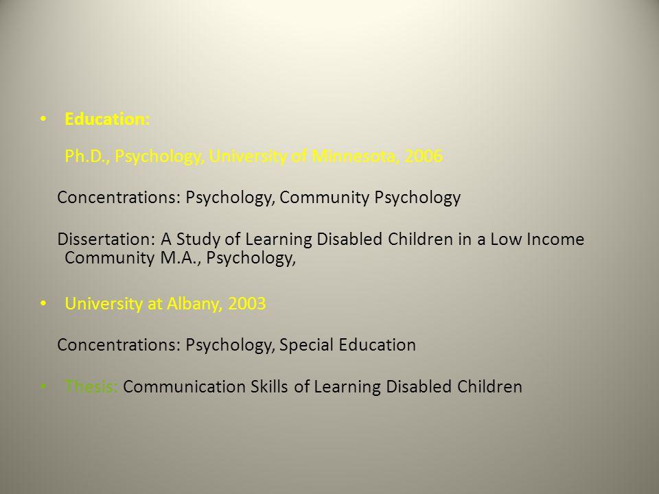Homework help learning disability   Dissertation statistical