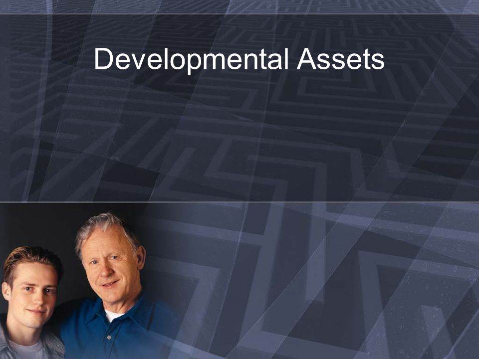 What are developmental assets.